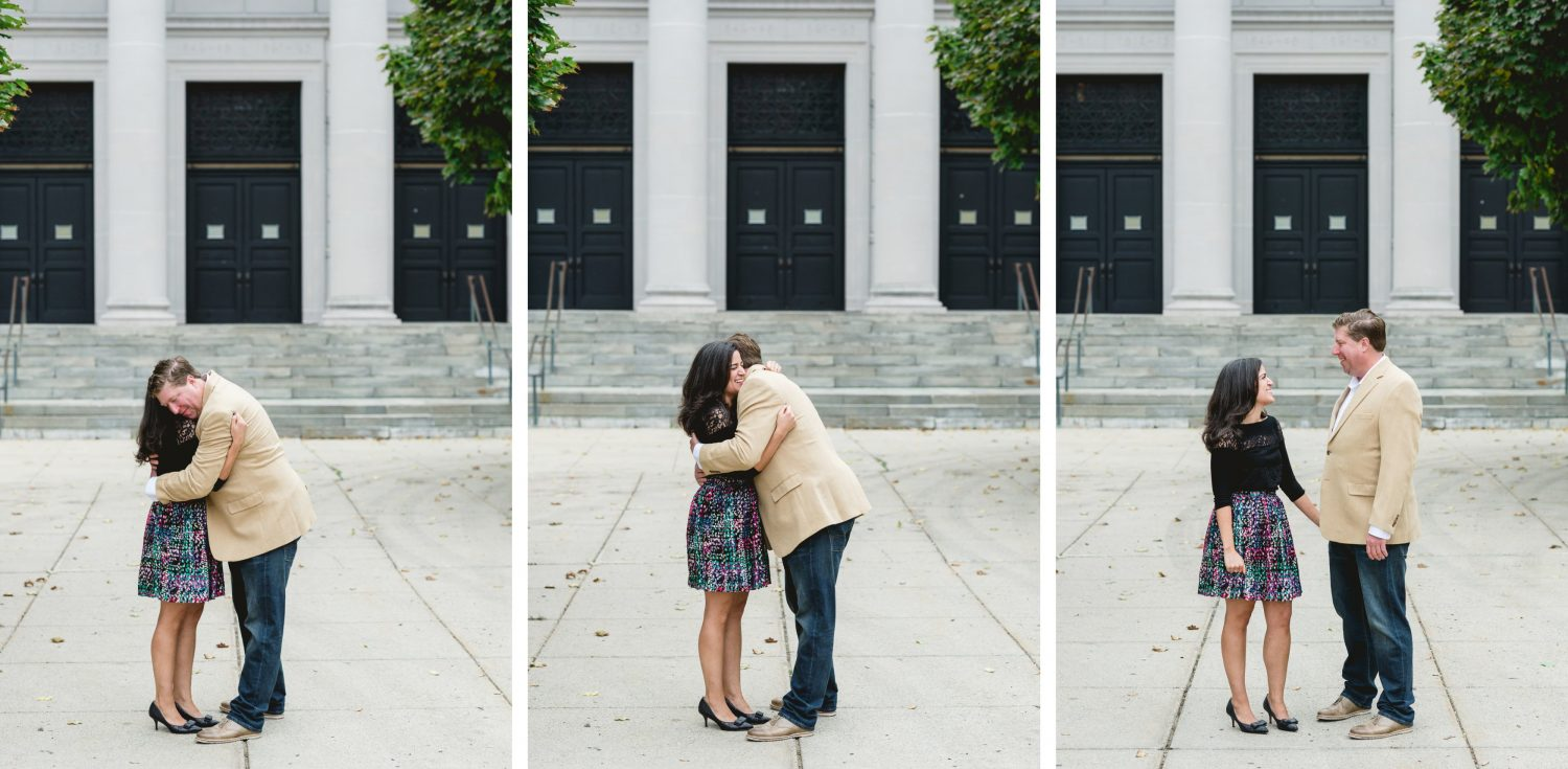 Downtown Lowell Fall Engagement Session