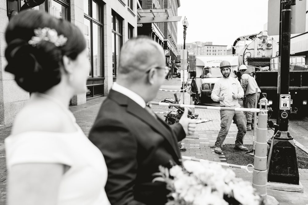 Intercontinental Hotel Boston Wedding